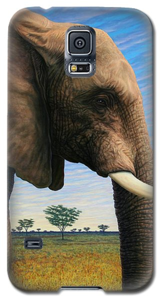 Elephant On Safari Galaxy S5 Case