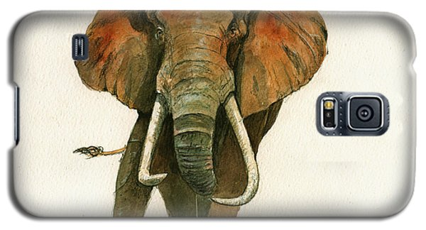 Elephant Painting           Galaxy S5 Case