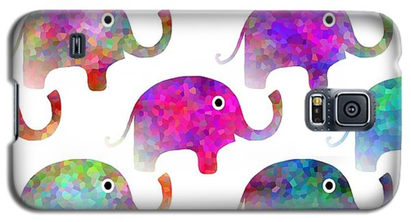 Elephant Parade Galaxy S5 Case by Kathleen Sartoris