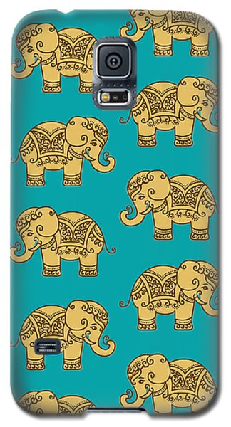 Elephant Pattern Galaxy S5 Case