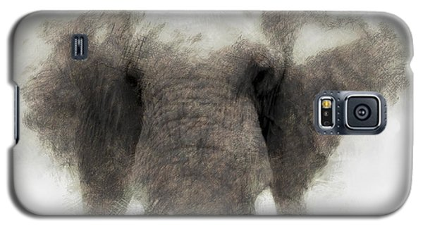 Elephant Portrait Galaxy S5 Case