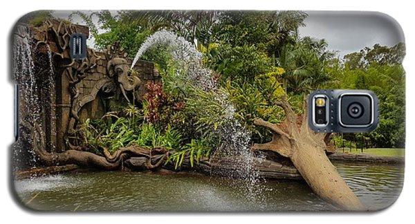 Elephant Waterfall Galaxy S5 Case