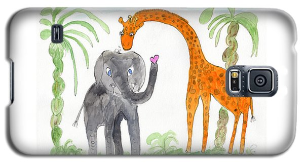 Elephoot And Elliot Galaxy S5 Case