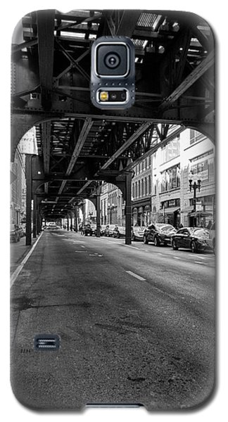 Elevated Train Track The Loop In Chicago, Il Galaxy S5 Case