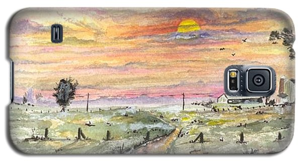 Elevator In The Sunset Galaxy S5 Case