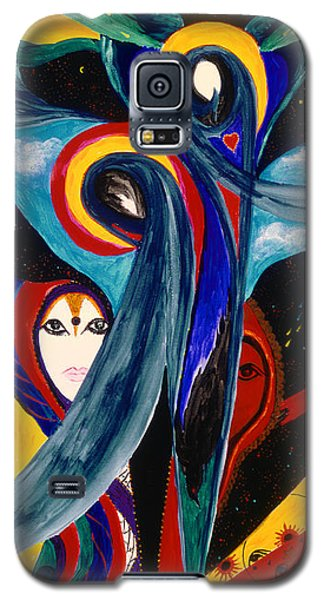 Grieving Galaxy S5 Case by Marina Petro