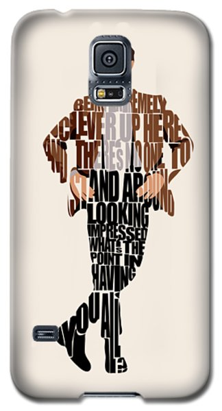 Eleventh Doctor - Doctor Who Galaxy S5 Case