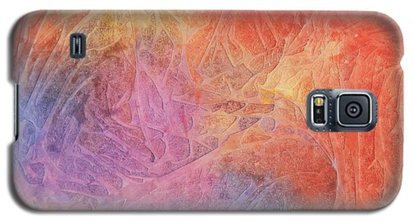 Galaxy S5 Case featuring the painting Eleyna's Forest by Jackie Mueller-Jones