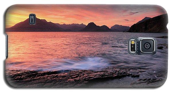 Elgol Sunset - Isle Of Skye 2 Galaxy S5 Case by Grant Glendinning