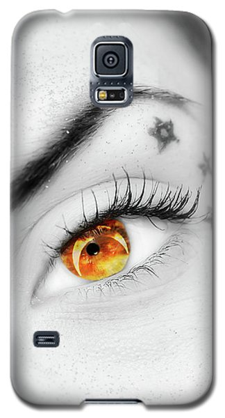 Eclipse And Lashes Galaxy S5 Case