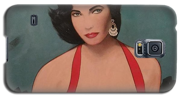 Elizabeth Taylor - Absolutely Beautiful Galaxy S5 Case