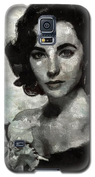 Elizabeth Taylor Galaxy S5 Case by Mary Bassett