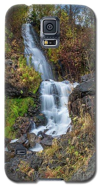 Elk Creek Waterfall Waterscape Art By Kaylyn Franks Galaxy S5 Case