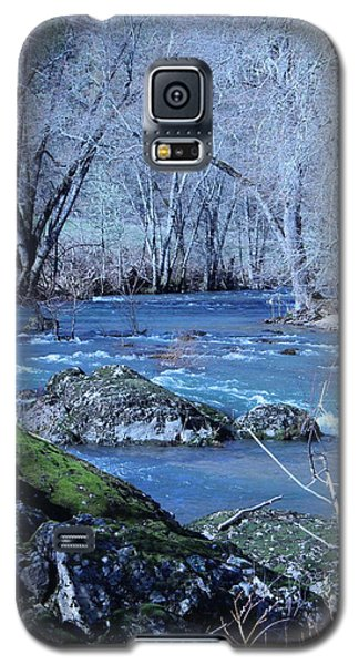 Galaxy S5 Case featuring the photograph Elk Creek Wonderland by Marie Neder