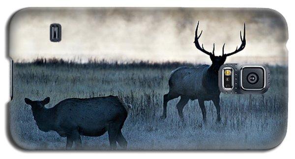 Elk In The Mist Galaxy S5 Case