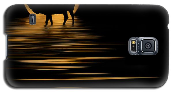 Elk In The Moonlight Galaxy S5 Case