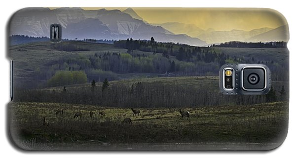Elk On The Horizon Galaxy S5 Case
