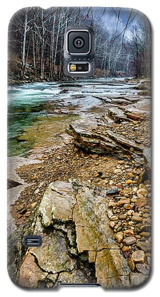 Galaxy S5 Case featuring the photograph Elk River In The Rain by Thomas R Fletcher