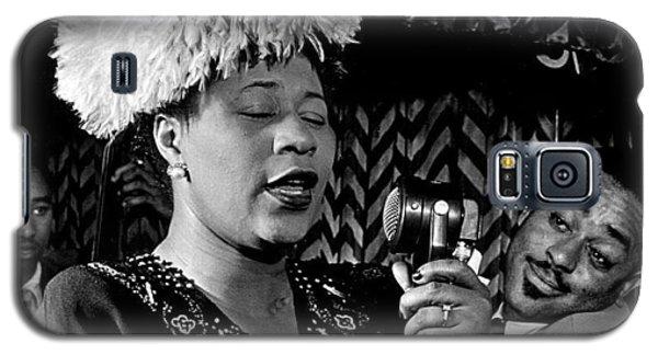 Ella Fitzgerald Dizzy Gillespie And Ray Brown William Gottlieb Photo Nyc 1947-2015 Galaxy S5 Case