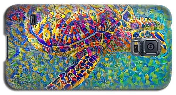Ella The Turtle Galaxy S5 Case by Erika Swartzkopf