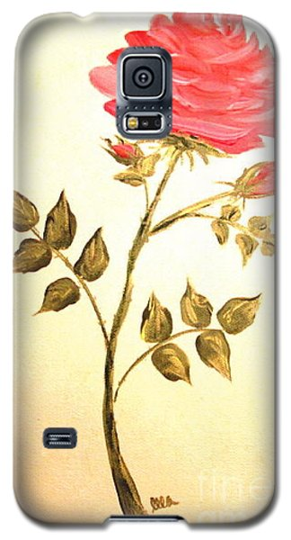 Ella's Rose Galaxy S5 Case by Leea Baltes