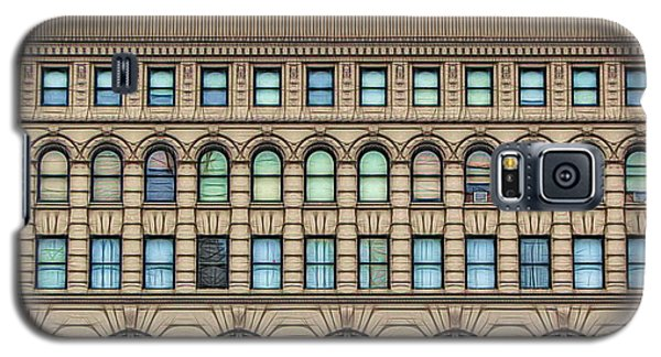 Ellicott Square Building Buffalo Ny Ink Sketch Effect Galaxy S5 Case