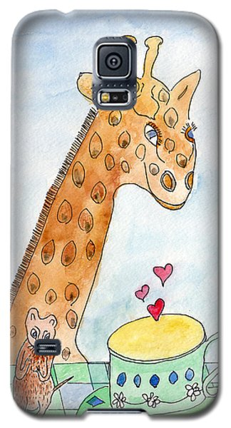 Elliott And Penelope Have Tea Galaxy S5 Case
