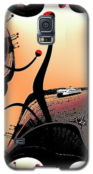 Elliott Bay Ferry Fractal Galaxy S5 Case