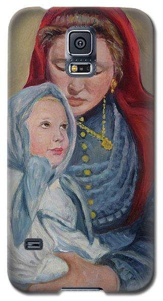 Ellis Island Madonna Galaxy S5 Case