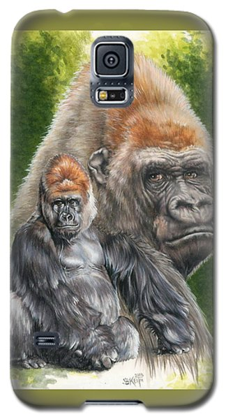 Galaxy S5 Case featuring the painting Eloquent by Barbara Keith