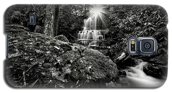 Elora Falls In Black And White Galaxy S5 Case