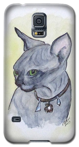 Else The Sphynx Kitten Galaxy S5 Case