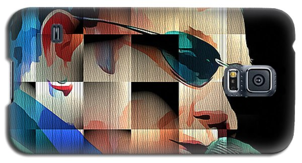 Elton John In Cubes 1 Galaxy S5 Case by Yury Malkov