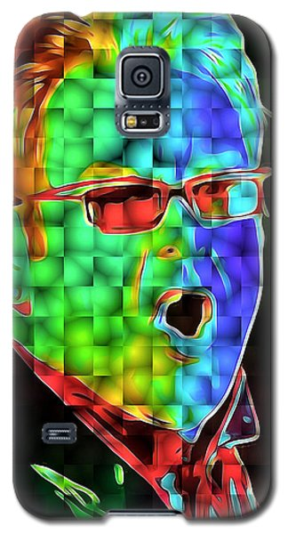 Elton John In Cubes 2 Galaxy S5 Case by Yury Malkov