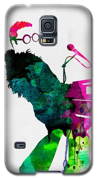Elton Watercolor Galaxy S5 Case by Naxart Studio