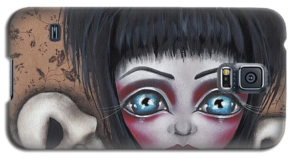 Elvira Galaxy S5 Case by Abril Andrade Griffith