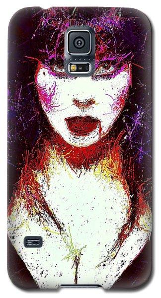 Elvira Mistress Of The Dark Galaxy S5 Case