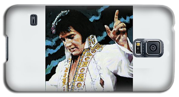 Elvis - How Great Thou Art Galaxy S5 Case by John Lautermilch