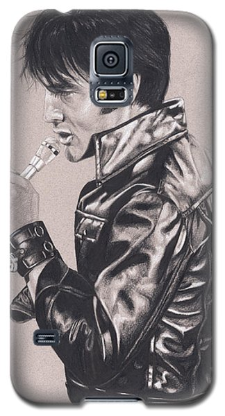 Elvis In Charcoal #177, No Title Galaxy S5 Case