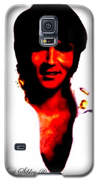 Elvis By Loxi Sibley Galaxy S5 Case by Loxi Sibley