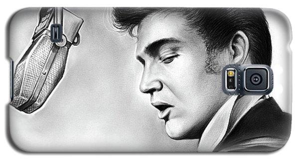 Elvis Presley Galaxy S5 Case by Greg Joens