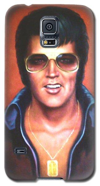 Elvis Presley Galaxy S5 Case by Loxi Sibley