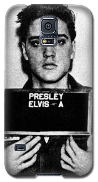 Elvis Presley Mug Shot Vertical 1 Galaxy S5 Case