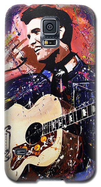 Elvis Presley Galaxy S5 Case by Richard Day