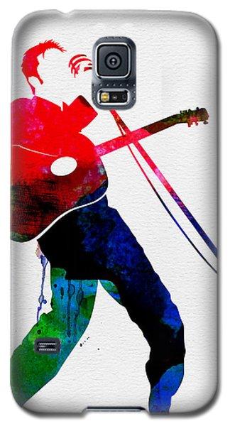 Elvis Watercolor Galaxy S5 Case