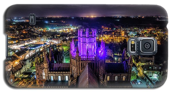 Ely Cathedral In Purple Galaxy S5 Case