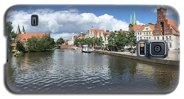 Embankment Of Trave In Luebeck Galaxy S5 Case