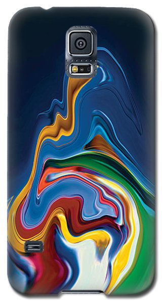 Galaxy S5 Case featuring the digital art Embrace by Rabi Khan