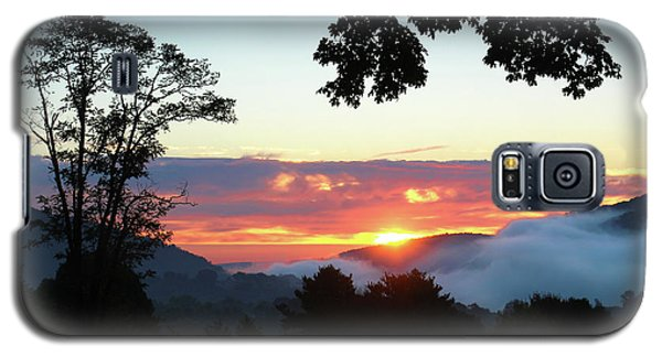 Galaxy S5 Case featuring the photograph Embracing The Dawn by Everett Houser