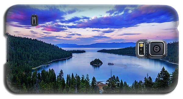 Emerald Bay And Ms Dixie At Sunset By Brad Scott Galaxy S5 Case